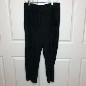 Vince Pants & Jumpsuits - Vince Pants Silk Suede Medium Goat Leather Jogger